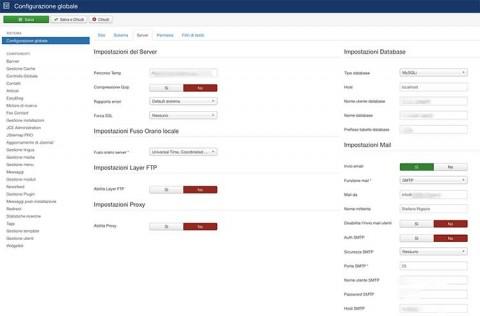 Come configurare, correttamente, le impostazioni di posta in Joomla?