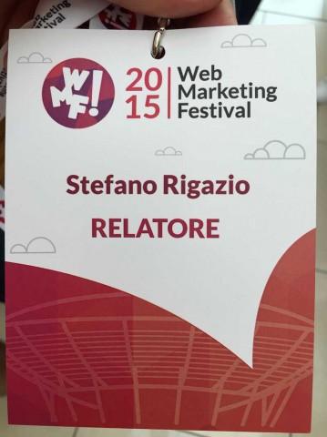 Intervento al WebMarketing Festival a Rimini: rendere Joomla perfetto per il motori di ricerca