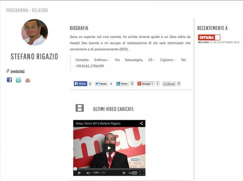 Realizzare un-ecommerce di successo: Smau Milano 2015