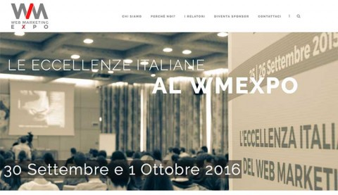 Web Marketing Expo: l'evento formativo dell'anno