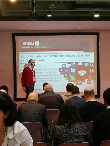Caratteristiche di un sito web aziendale efficace: Smau Milano 2016